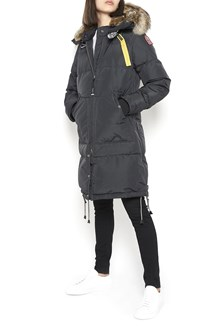 "PARAJUMPERS long padded jacket ""long bear"" with fur collar"