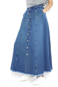 "TOMBOY denim ""telma"" long skirt with buttons closure"