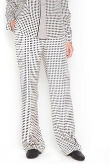 BOTTEGA VENETA Silk printed pants