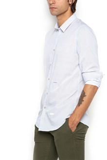 DNL Mini polka dots printed cotton shirt
