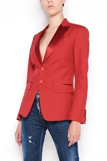 DSQUARED2 Red jacket  with buttons closure