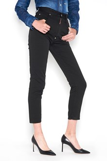 DSQUARED2 5 pocket high waisted 'Twiggy ' cropped jeans