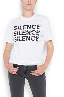 McQ ALEXANDER McQUEEN classic 'Silence' printed t-shirt