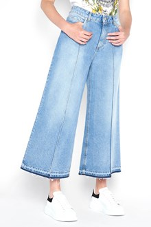 ALEXANDER MCQUEEN Fringed jeans