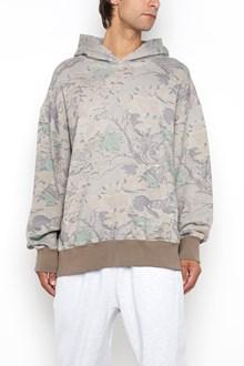 YEEZY 'Boxy fit' camouflage printed hooded sweatshirt