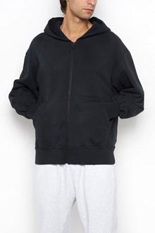 YEEZY 'Boxy fit' hooded zipped sweatshirt