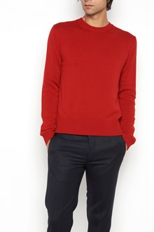VALENTINO Crew-neck cashmere cardigan with a stud on the back