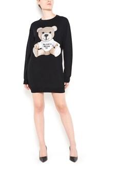 MOSCHINO printed bear dress