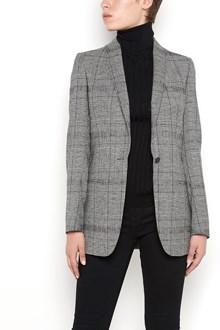 TONELLO single-breasted tartan jacket