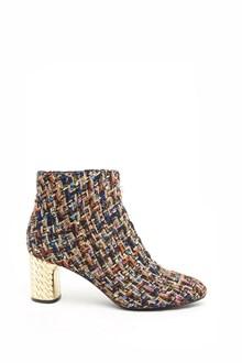 CASADEI Gabrielle texture ankle boots