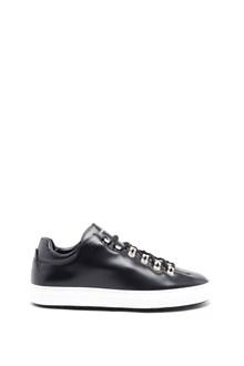 DSQUARED2 Calf leather 'Abrasivato' sneakers
