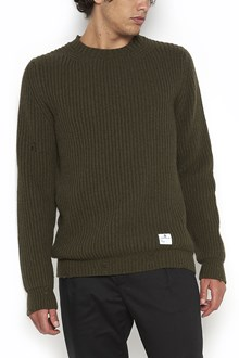 "DEPARTMENT FIVE ""marley"" destroyed crew neck sweater"