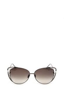 LINDA FARROW  'Cat eye' sunglasses