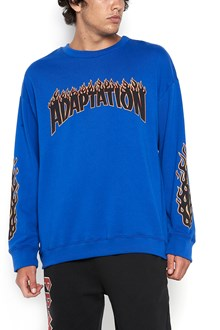 ADAPTATION crew neck sweatshirt with logo print
