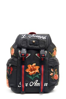 GUCCI backpack with canvas patch