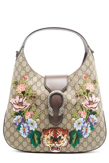 "GUCCI ""dionysus hobo"" medium bag with flower patch"