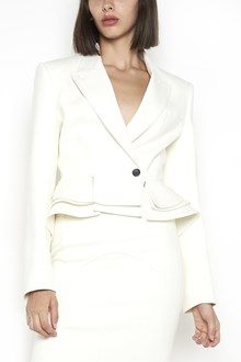 TOM FORD single-breasted jacket with frill