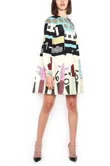VALENTINO fantasy printed mini dress