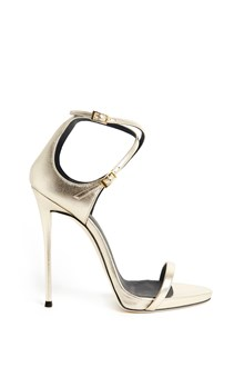 GIUSEPPE ZANOTTI DESIGN Metal leather sandal