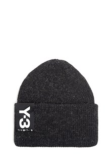 Y-3 Beanie in wool with logo