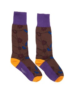 MARNI Socks with flowers