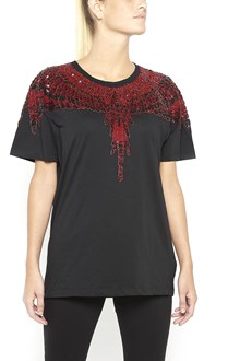 MARCELO BURLON - COUNTY OF MILAN 'Notec' cotton t-shirt with sequins embroidery