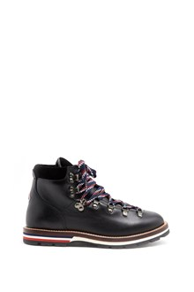 MONCLER ankle boots in leather