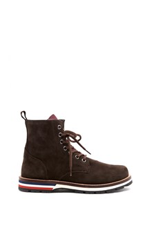 MONCLER ankle boot' new vancouver' in suede  with wool inside