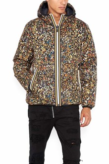 DSQUARED2 nylon padded jacket with zip and hood