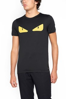 "FENDI ""monster eyes"" t-shirt with studs"