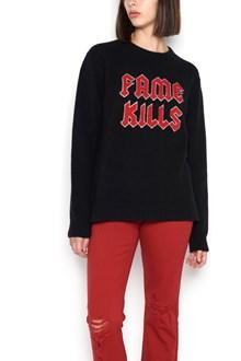 "ADAPTATION ""fame kills"" sweater"
