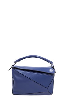 LOEWE 'puzzle' small leather hand bag with strap