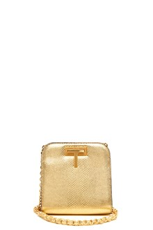 TOM FORD crossbody bag with logo lock and chain