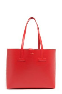 TOM FORD 'T' small leather tote
