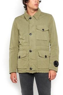 C.P. COMPANY zipped padded jacket with hood