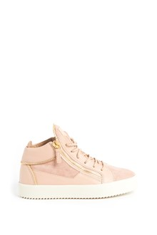 GIUSEPPE ZANOTTI DESIGN Sneakers with suede details