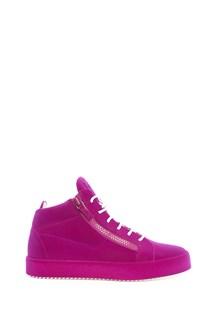 GIUSEPPE ZANOTTI DESIGN High-top zipped sneakers