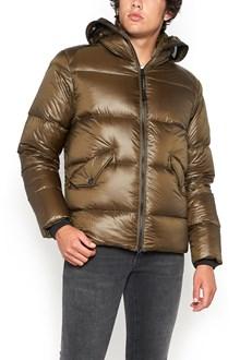 C.P. COMPANY short padded jacket with hood