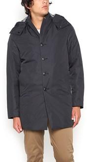 C.P. COMPANY long padded jacket with hood