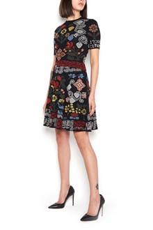 ALEXANDER MCQUEEN embroidered  short dress