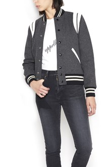 SAINT LAURENT Virgin wool bomber jacket