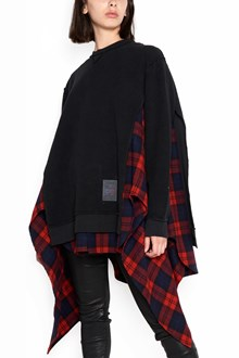 DSQUARED2 cotton sweatshirt with check print