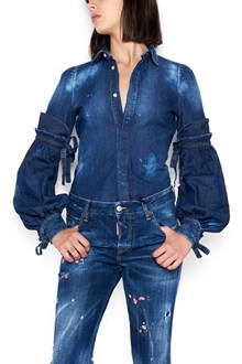 DSQUARED2 denim shirt with sleeves details