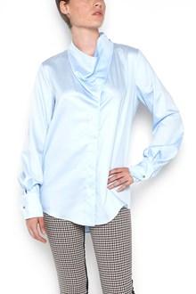 STELLA MCCARTNEY cotton shirt with neckline detail