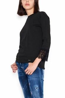 DSQUARED2 cotton crewneck long sleeves t-shirt