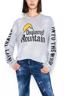 DSQUARED2 cotton printed long sleeve t-shirt