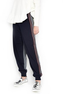 STELLA MCCARTNEY wool pants with bands on side