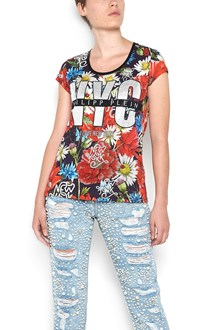 PHILIPP PLEIN 'astor place theatre' cotton t-shirt