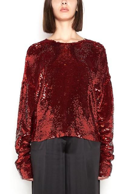GIACOBINO blouse with paillettes
