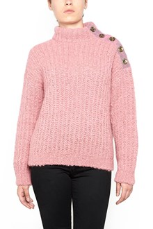 BOUTIQUE MOSCHINO turtleneck sweater with buttons
